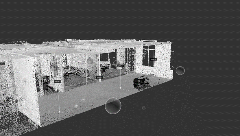 3D scanning of the Office in London (1)