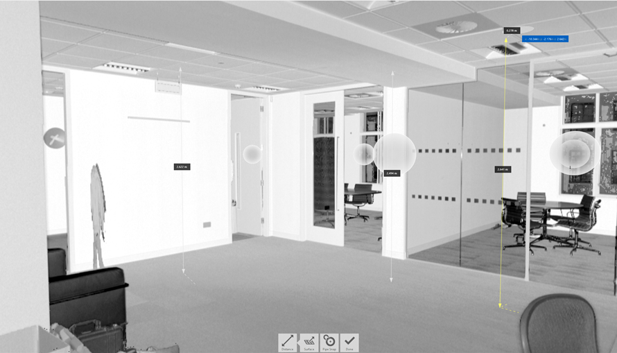 3D scanning of the Office in London (2)