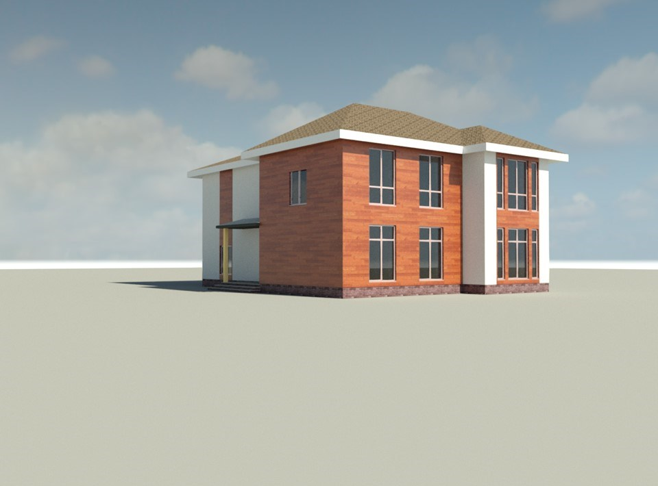 picture of building 3d visualisation